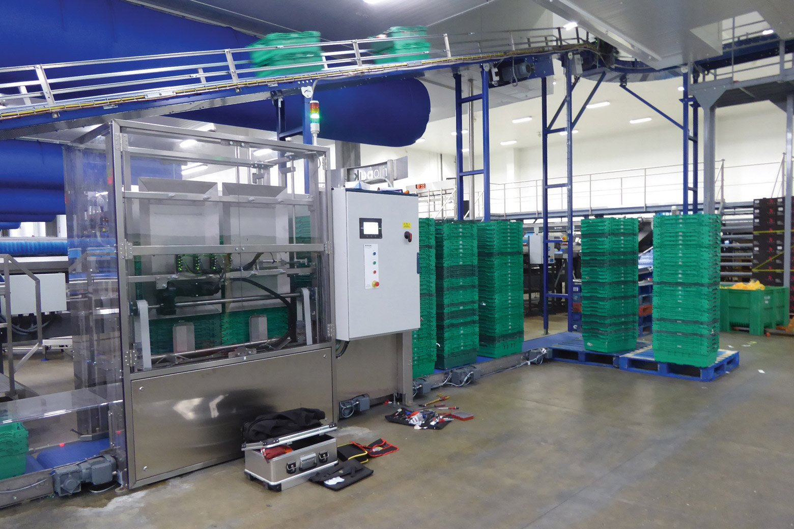 robotic packing system
