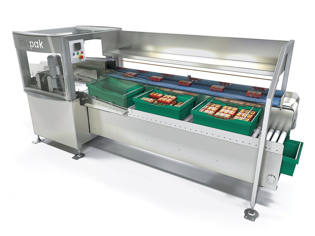 brillopak pakstation semi automatic packing machine