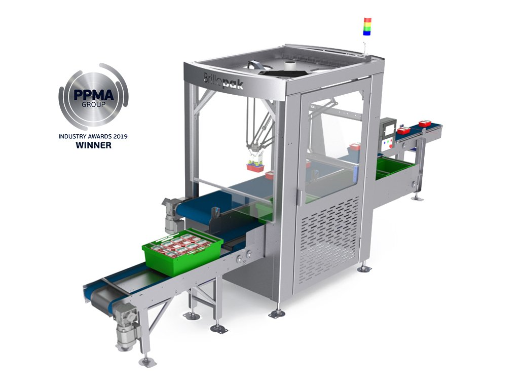 brillopak unipaker automated packing machine