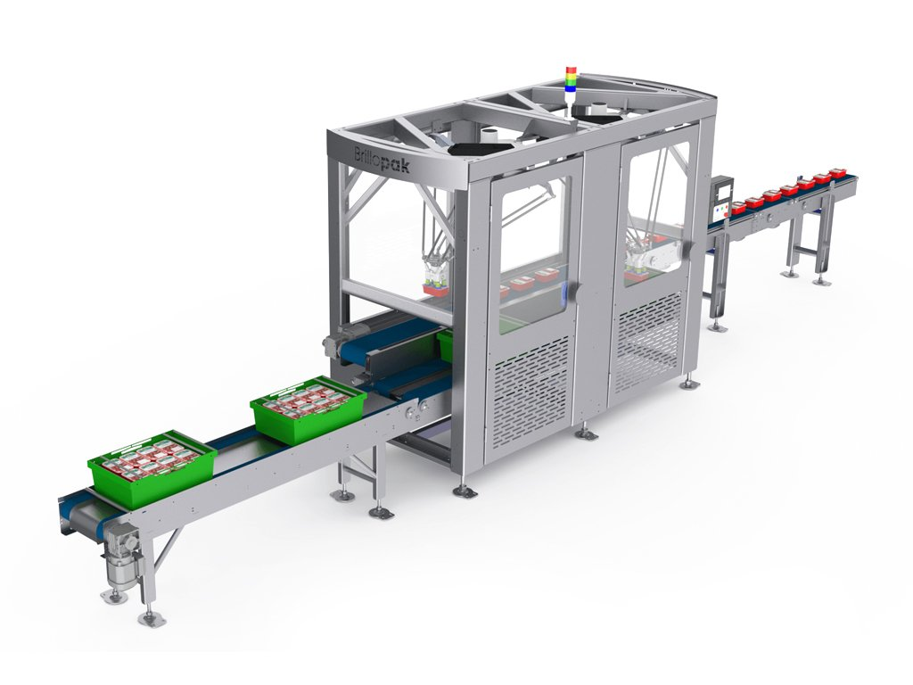 brillopak unipaker duel automated food packing machine